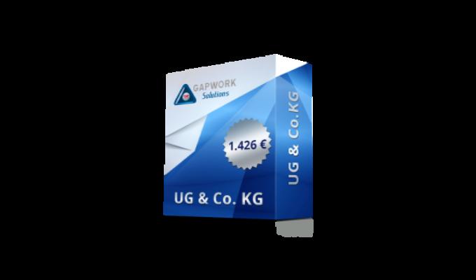 UG & CO.KG 1.426,00 € +19% MwSt