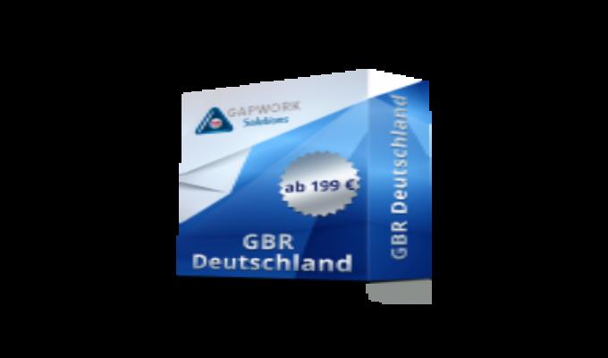 GBR Ab 199,00 € +19% MwSt