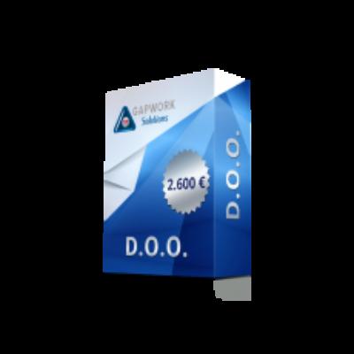 KROATISCHE D.O.O. (GMBH) STAMMKAPITAL 20.000,00 KUNA Ab 2600,00 € +25% MwSt